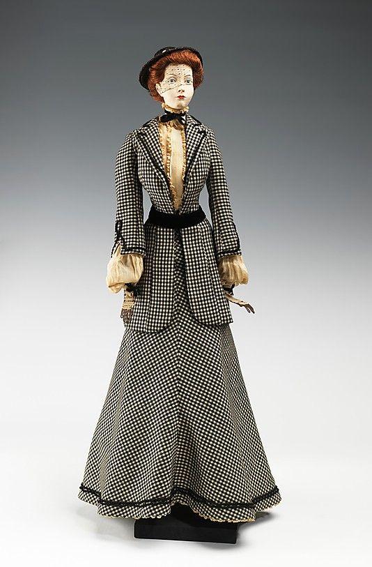 1904 Кукла Луи O'Rossen (металл, гипс, волосы, шерсть, хлопок, шелк, солома), 1949.  ММА