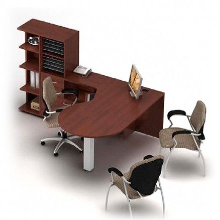 Global ZIRA - Computer Desk Suite for managers or executives ZL-27