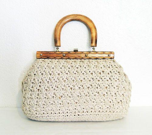 Vintage Crochet Purse 60´s