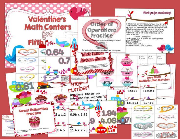 valentine day math games kindergarten