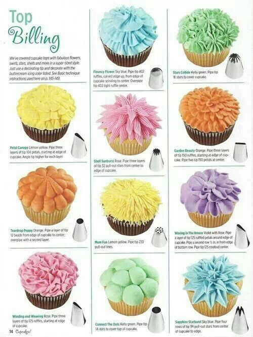 Cake Decorating Nozzles And Their Uses : Duyas wilton - Imagui