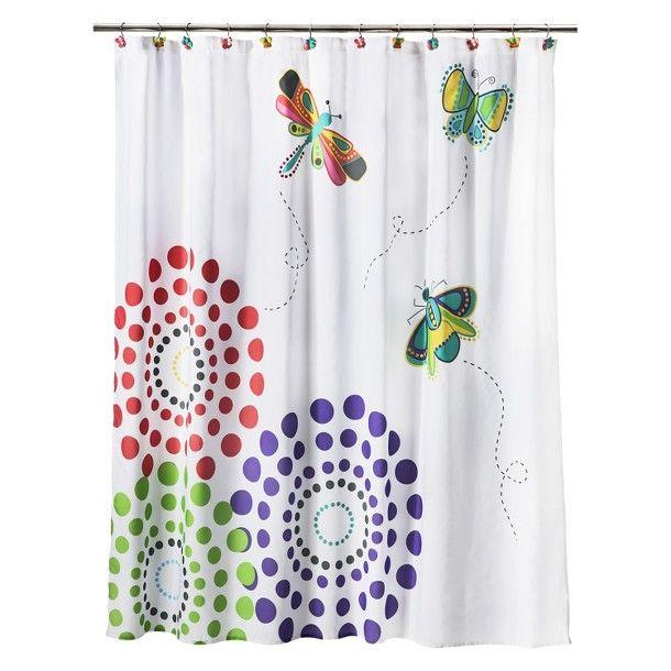 Curtains Ideas target kids shower curtain : ... on this shower curtain. Circo® Butterflies Shower Curtain - Pastel