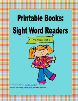 This is a photo of Hilaire Printable Sight Word Book