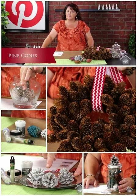 Pinterest Crafts with Pine Cones