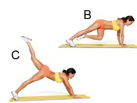 Brooke Burke's 15 min. butt workout from Shape