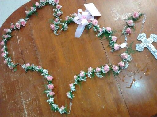 rosary funeral flowers   Hummingbird's - 67.8KB