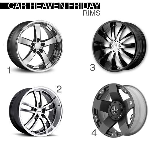 Car Heaven Friday Different style Rims Vossen, TSW, Hela, KMC