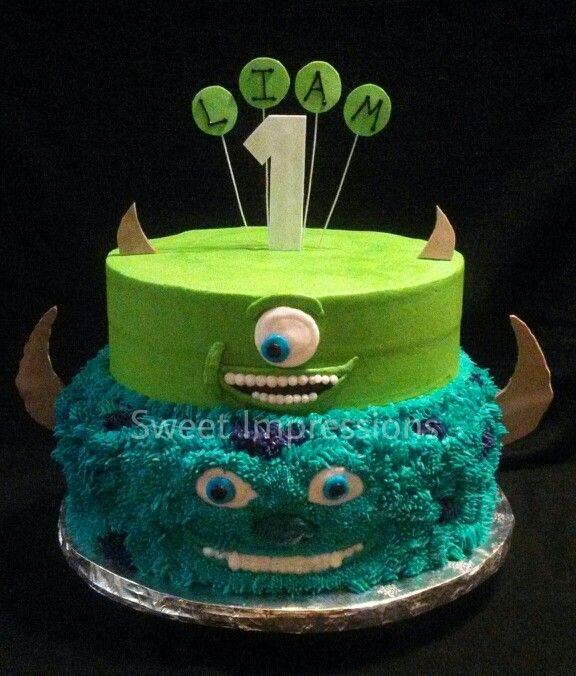 Cake Design University : Monsters University Cake Noah s 3rd Pinterest
