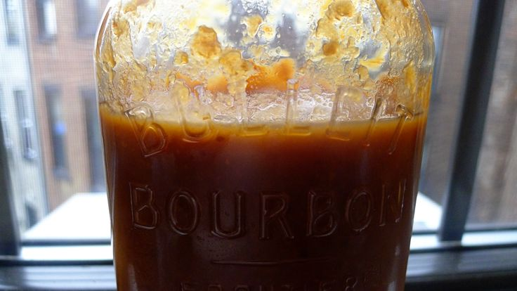 Peach-plum-bourbon barbecue sauce. | Yes I Can | Pinterest