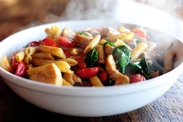 Chicken Florentine Pasta - **** Really Good - clt 8/14 ****