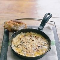 Jimmy Bradley's Baked Fontina With Olive Oil & Rosemary Focaccia by ...