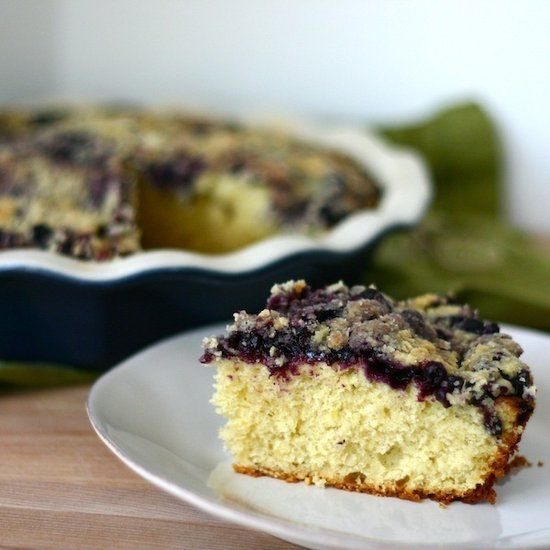 One Part Sunshine Lemon Cardamom Blueberry Buckle - Vote for my recipe ...