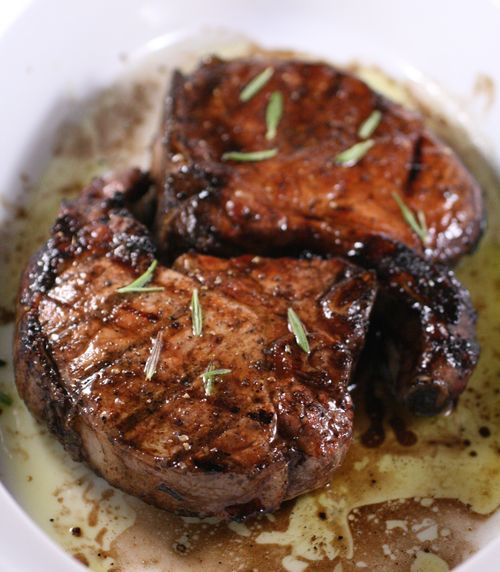 Sweet and Sour Glazed Pork Chops | Food I may have to try | Pinterest