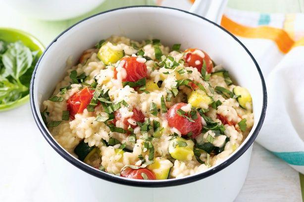 Italian vegetable risotto   Vegetarian & Vegan   Pinterest