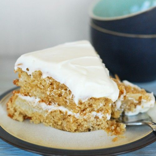 Pear Spice Cake | Feeding the Brain | Pinterest