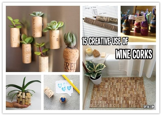 15 creative diy projects with wine corks good things to