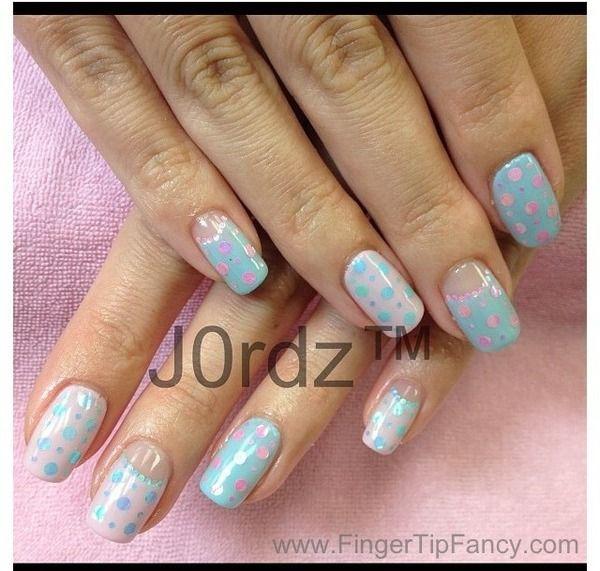 baby shower nails nailart manicure pedicure nails mani pedi