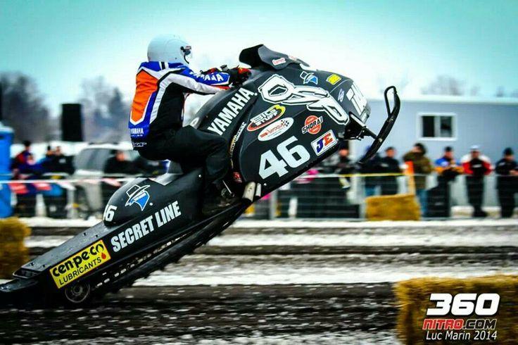 Snowmobile jump :)