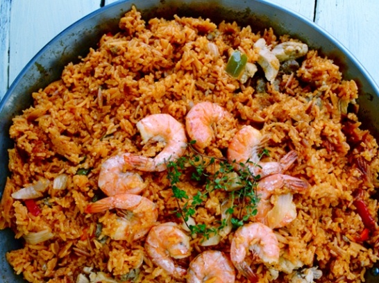 Easy Paella by Boogie..ok I'm dying to try this and hope it's truly ...