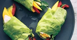 Ceviche Spring Rolls | PALEO & Healthy recipes | Pinterest