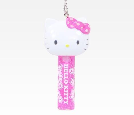 Hello Kitty Strawberry Lip Gloss: Spring Flowers