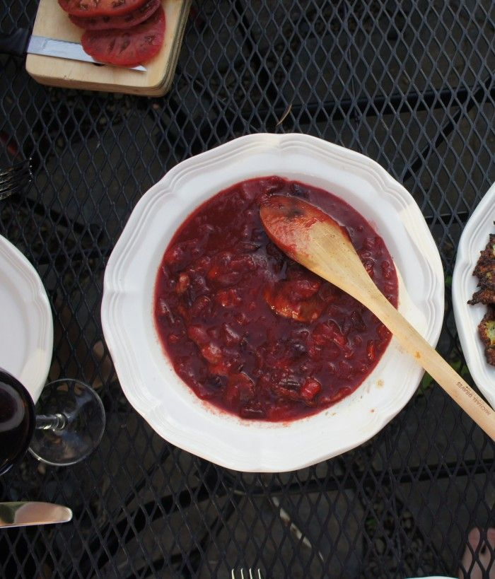 Chicken with Plum Chutney - plus a give away!