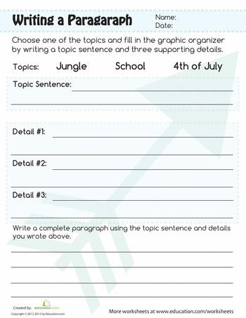 Paragraphing homework