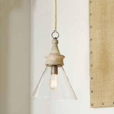 Claudia 1-Light Pendant  | Ballard Designs