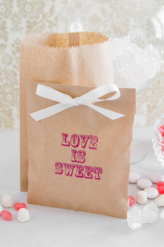 Paper Candy Bar Bags