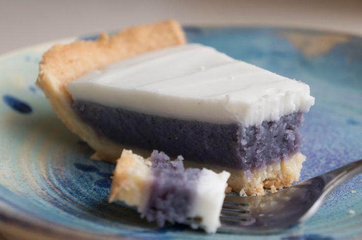 Sweet potato haupia pie (to die for! ohana hawaiian cafe in portland ...