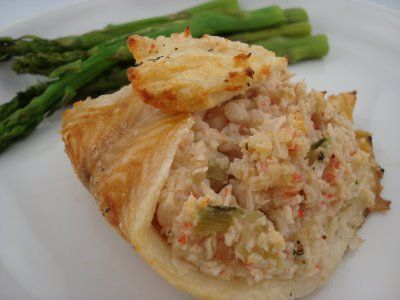 Crabmeat Stuffed Sole | Fish & Seafood | Pinterest