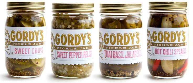 Spicy pickles! Sweet Pepper Relish, Hot Chili Spears, Thai Basil ...