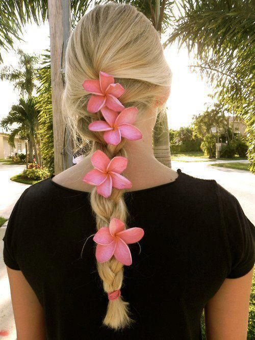Hairstyles For Long Hair Night Out : Cute hairstyle ideas for night out---- wish Id seen this in Hawaii :)
