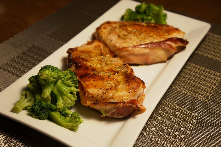 grilled pork chops with bacon sauce smokin succulent grilled pork ...