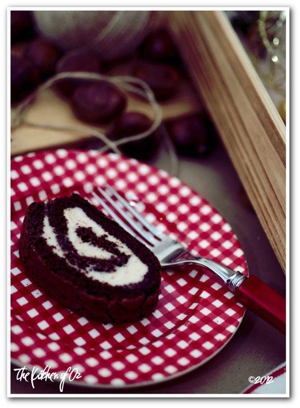 Chestnut Rum cream Roulade   Swirl/Rolls/Roulade/Cakes   Pinterest