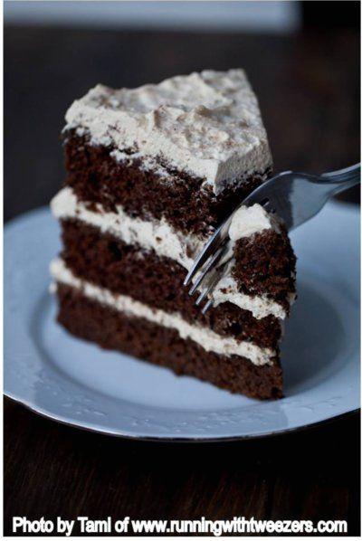 Mocha Layer Cake | Let Them Eat Cake! & Cupcakes ♥ | Pinterest