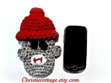 Cell Phone Purse Free Crochet Pattern Courtesy of