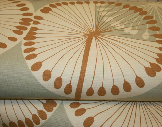 My Modern Dandelion Home Decor Fabric Sale