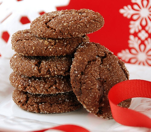 Chewy Chocolate Gingerbread Cookies | Delicious Food | Pinterest