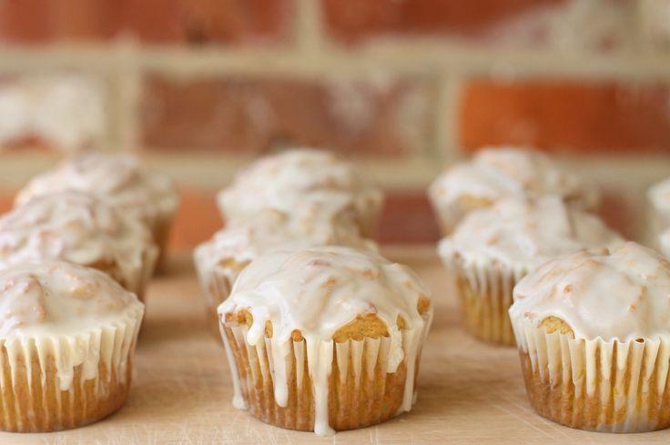 Glazed Pumpkin Doughnut Muffins | food | Pinterest