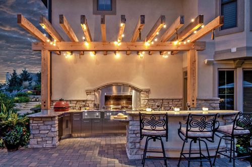 Luxury Outdoor Kitchens in Cape Coral  Outdoor Living  Pinterest