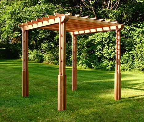 simple pergola entrance google search garden alcoves. Black Bedroom Furniture Sets. Home Design Ideas