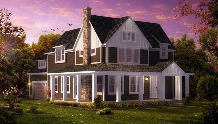 Coastal Colonial Traditional House Plan 42840