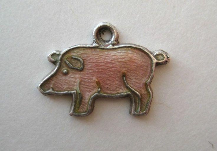 lucky pig charm