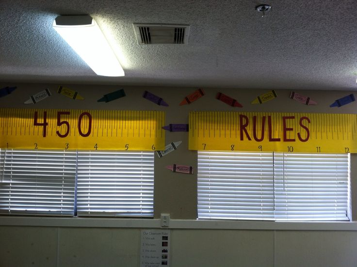 Curtains out of butcher paper | Classroom Ideas | Pinterest