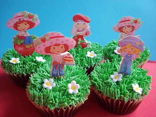 Strawberry Shortcake cupcakes                                                                                                                                                           strawberry shortcake cupcakes                                     ..