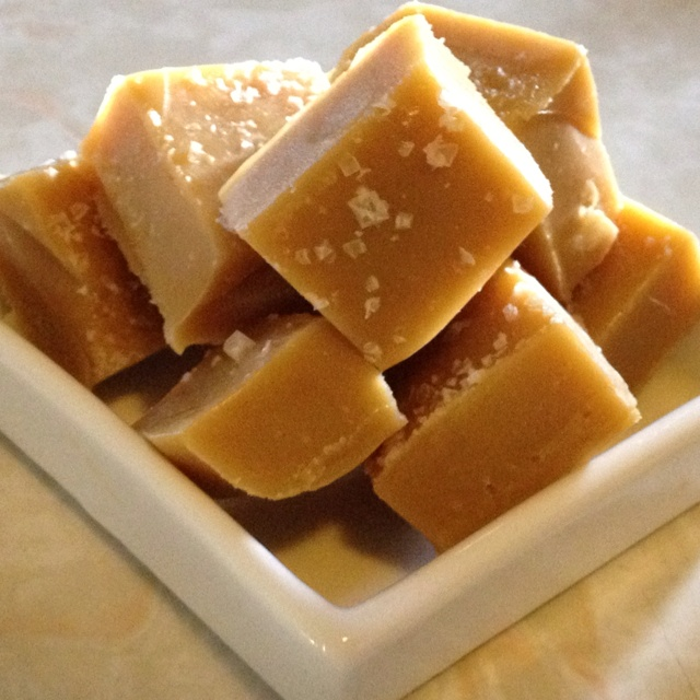 Salted caramel fudge | Sugar Rush | Pinterest