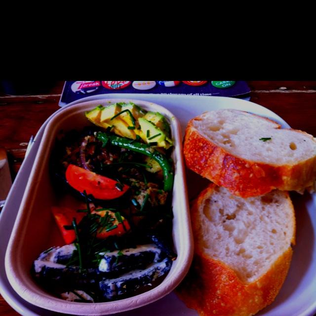 amp circus sandwich box chevre goats cheese avocado basil tomato amp ...