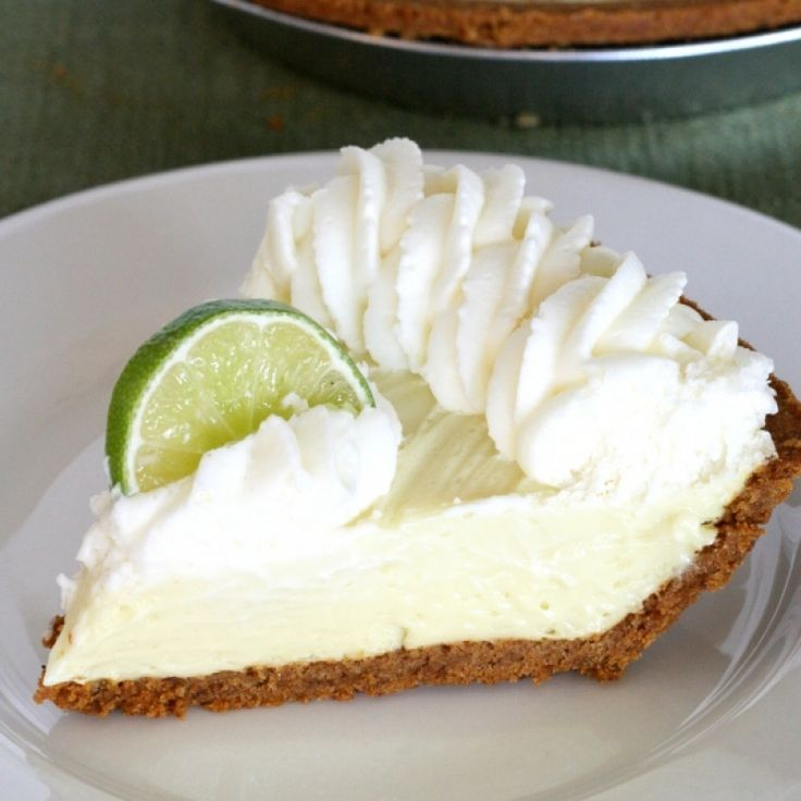 knock out recipe for coconut key lime pie with a crunchy nutty crust ...