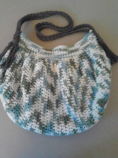 Hobo Bag Crochet : Crochet Hobo Bag. Crochet Chic Pinterest